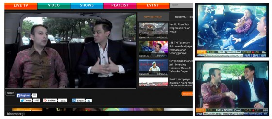 At the Wheel on Bloomberg TV Indonesia