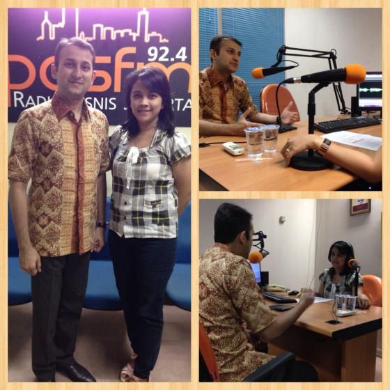 Bincang Bisnis on 92,4 Pas FM Radio Bisnis Jakarta