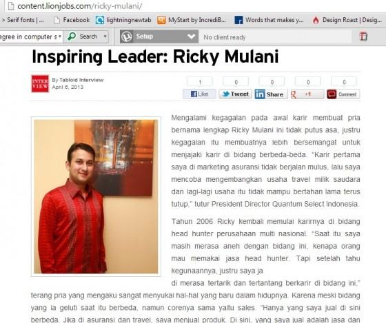 Inspiring Leader – lionjobs.com