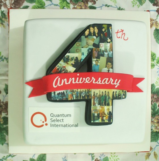 4th Anniversary – a Special Moment