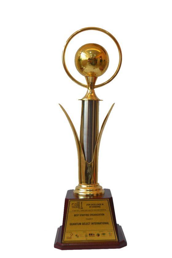"""""""Best Staffing Organization"""" – 2016 Golden Globe Tigers Award"""